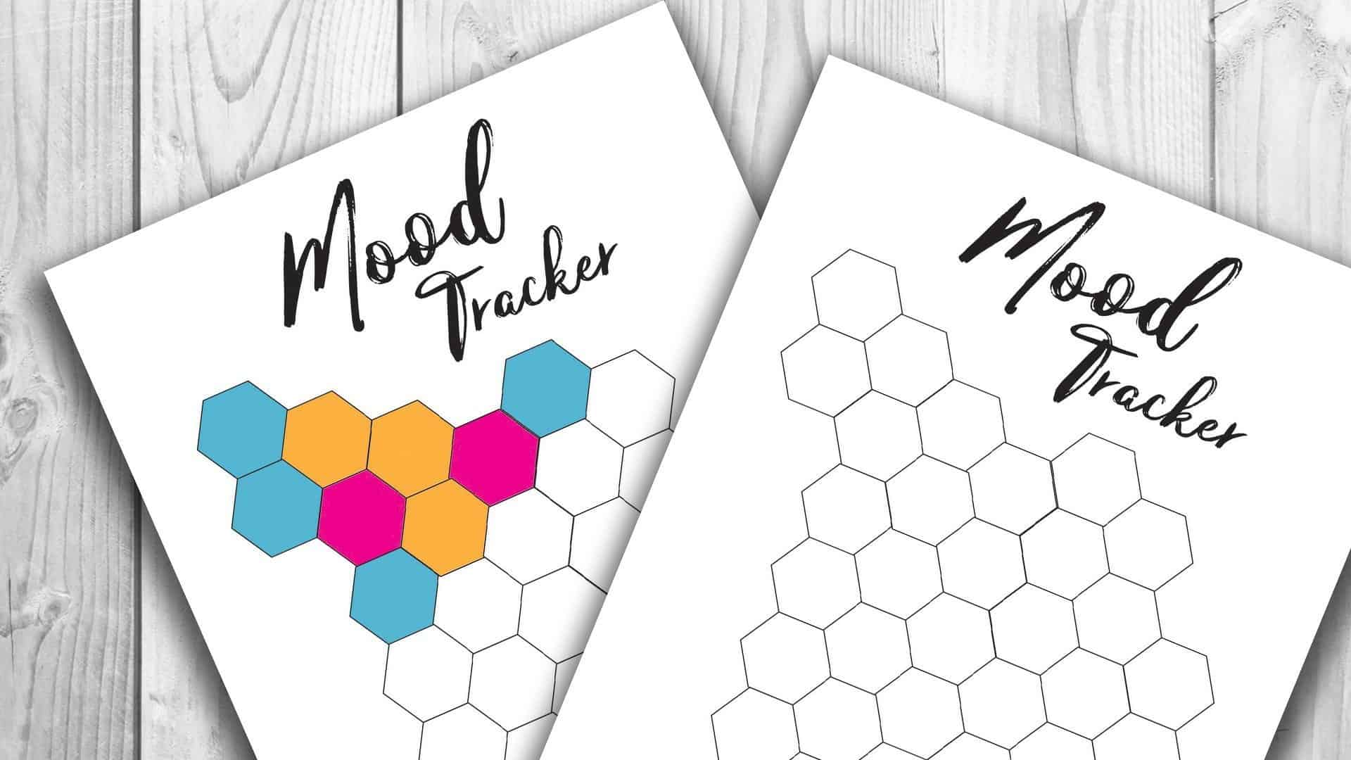 image about Printable Mood Tracker named Temper Tracker Printable - Comp and Ink